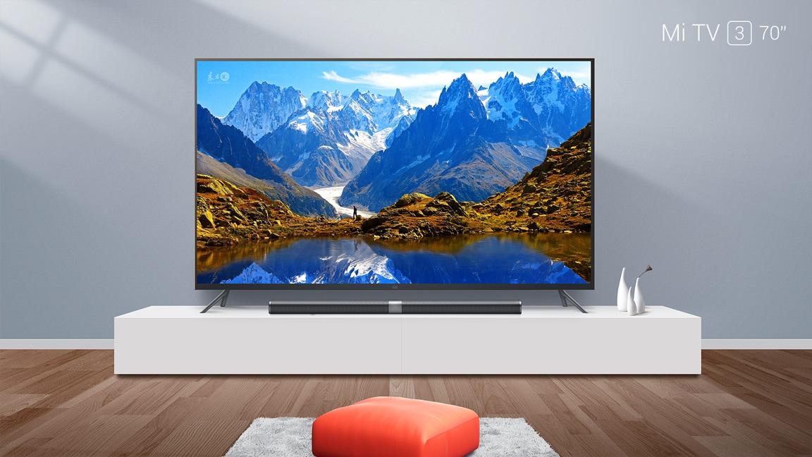 Mi TV 3 sempre più grande: ora in versione da 70'' 4K a 1.400€! (foto)