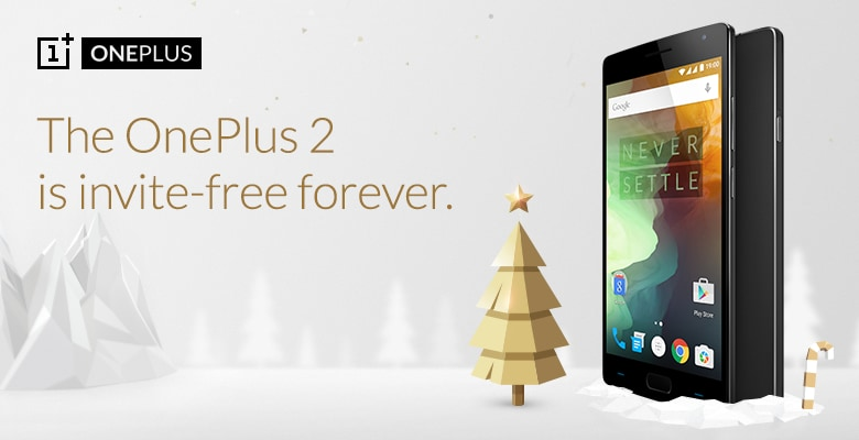 È Natale: OnePlus 2 disponibile all'acquisto senza invito per sempre, e altre offerte in arrivo!