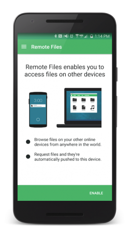 Pushbullet Remote Files - 1