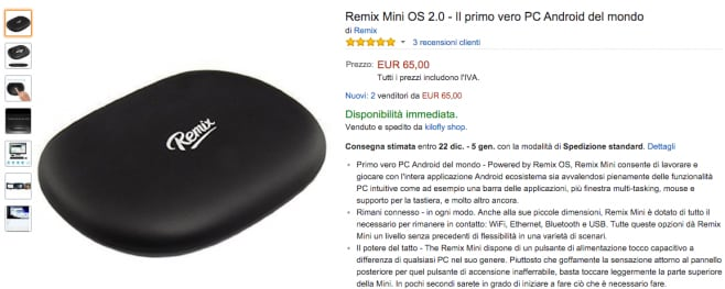 Remix Mini amazon