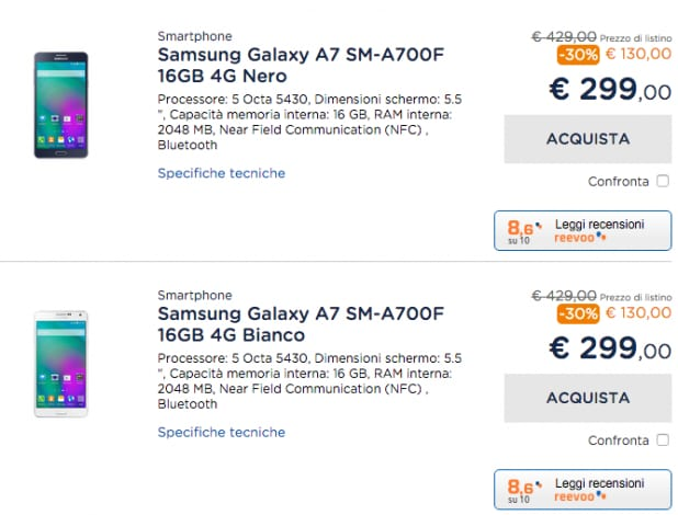 Samsung Galaxy A7 Unieuruo