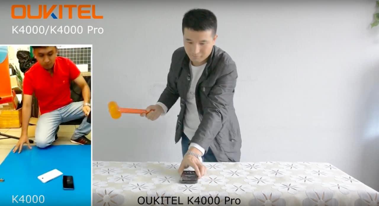 Oukitel K4000 Pro - Martello