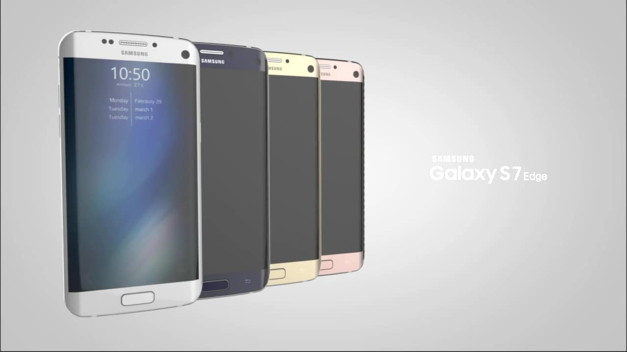 Concept video Galaxy S7 edge