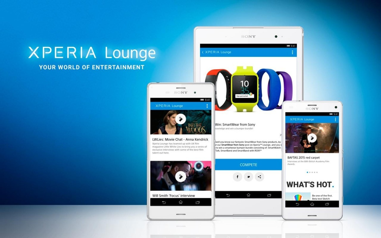 Sony Xperia Lounge