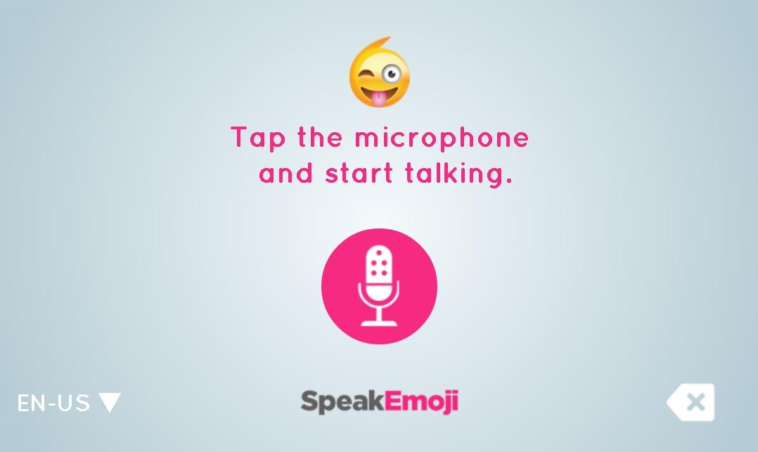 SpeakEmoji: la tastiera che traduce le vostre frasi in emoji (foto)