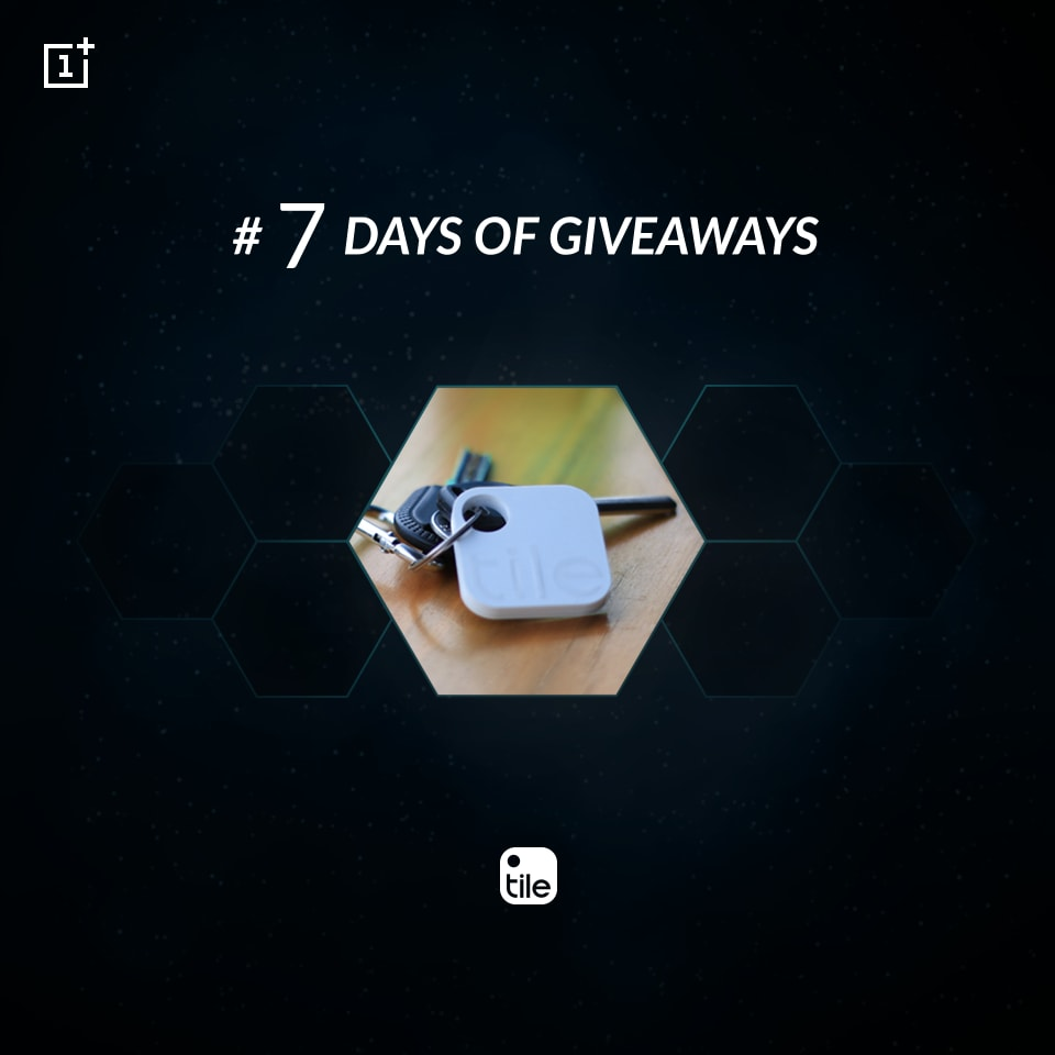 Tile Giveaway OnePlus