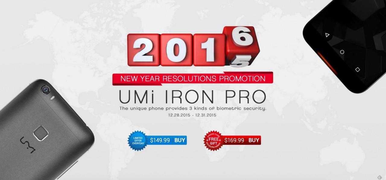 UMi Iron Pro scontato a circa 140€ fino alla fine dell'anno