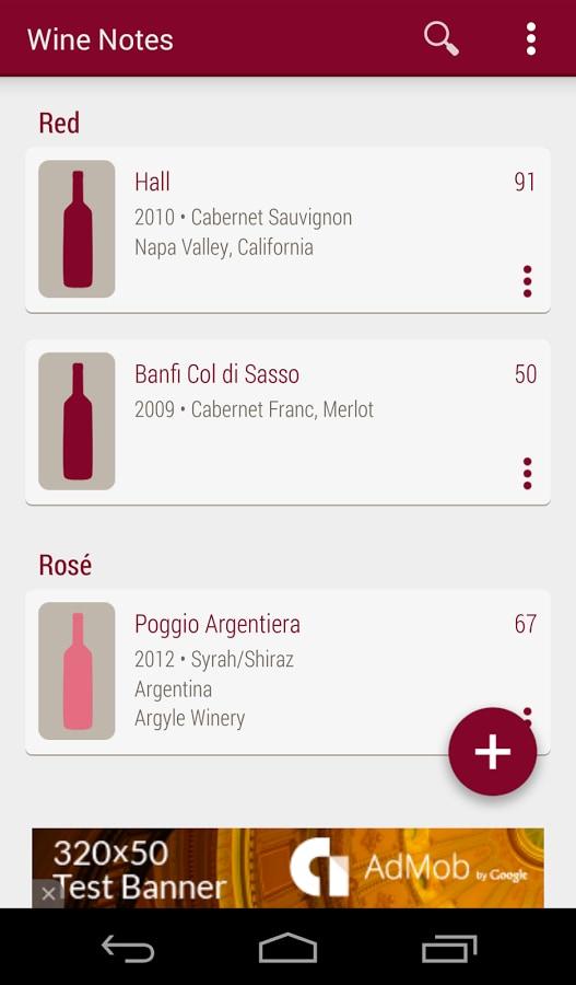 Wine Notes – 1