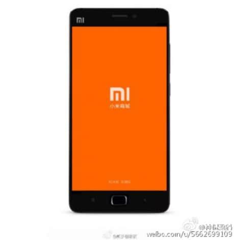 Xiaomi Mi5 render lettore impronte