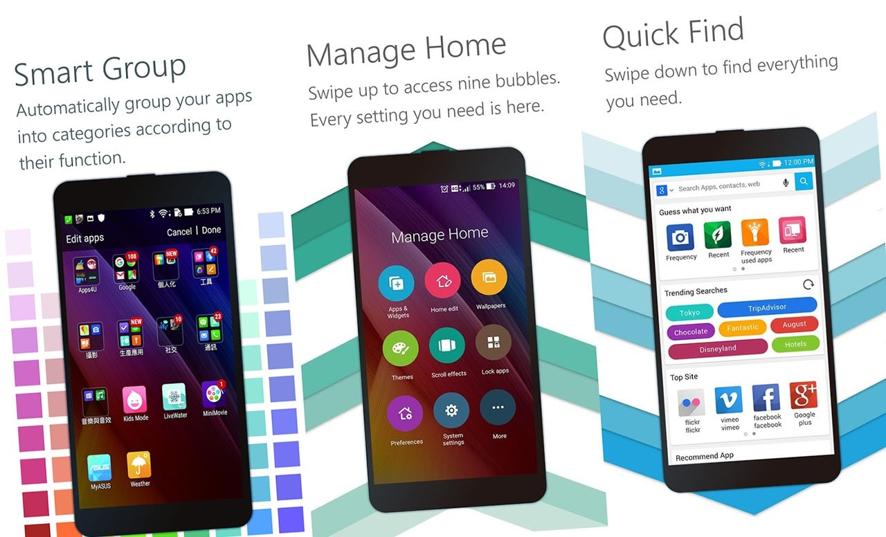 ASUS vuole che abbiate la ZenUI sul vostro dispositivo: disponibile gratis il launcher ufficiale! (foto)