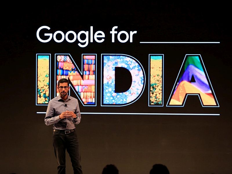 Google for India - Sundar Pichai