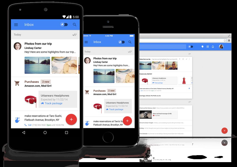 Inbox: un sacco di nuove integrazioni e finalmente l'eliminazione a portata di clic