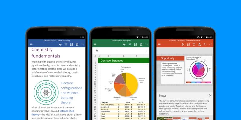 Microsoft aggiorna Word, Excel e PowerPoint con diverse novità pensate per i touchscreen