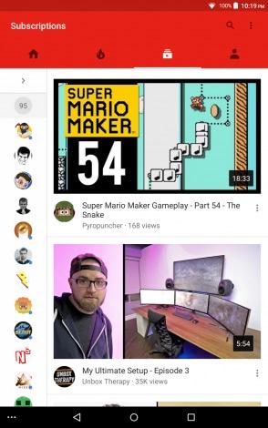 nuova grafica iscrizioni youtube - 2