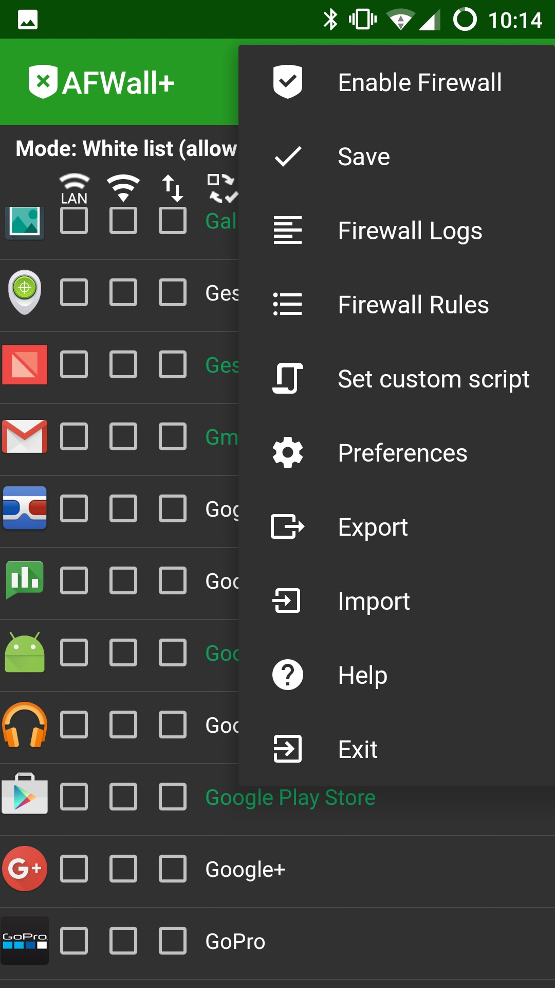 Controllate Le Connessioni Delle Vostre App Con Afwall