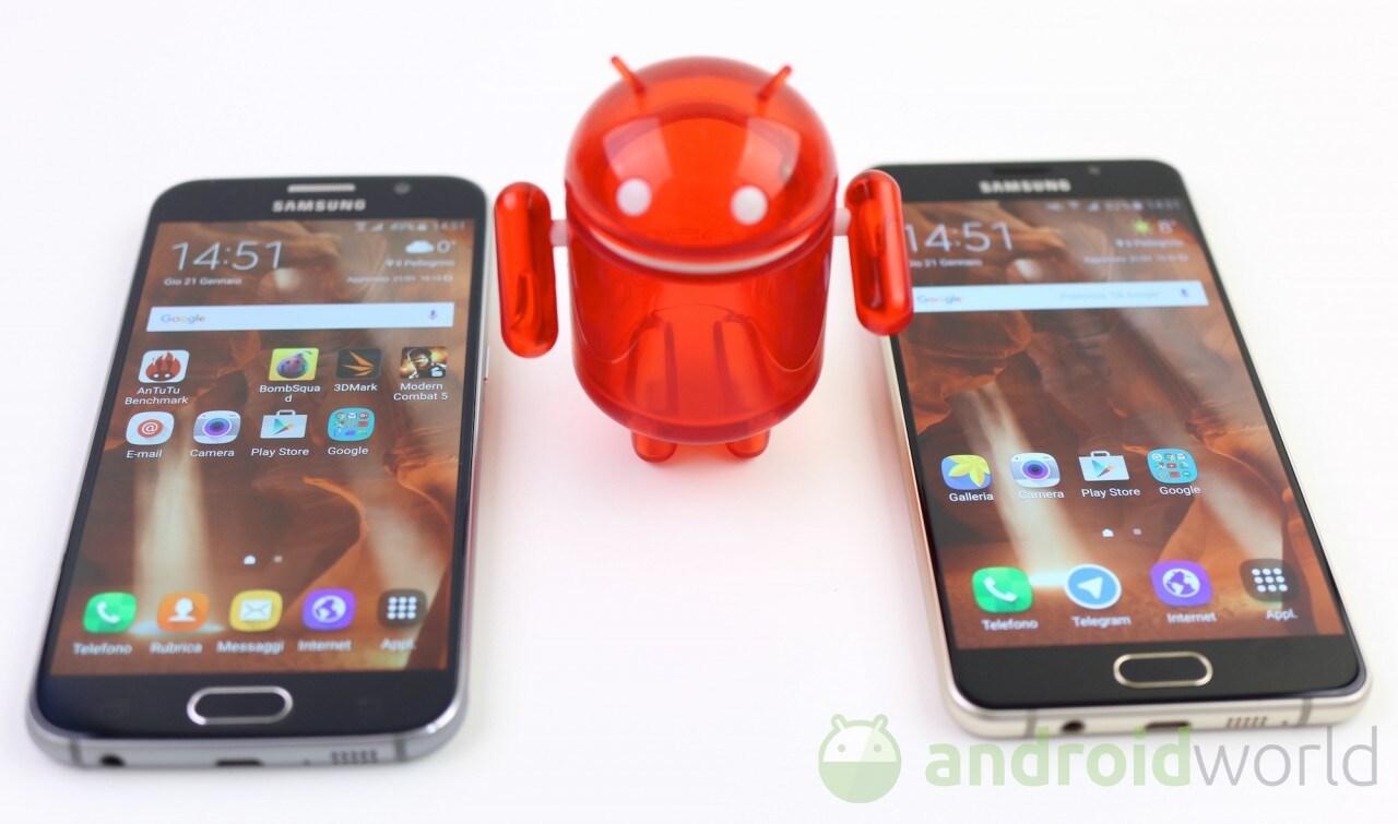 Confronto Samsung Galaxy S6 - A5 (2016) - 2