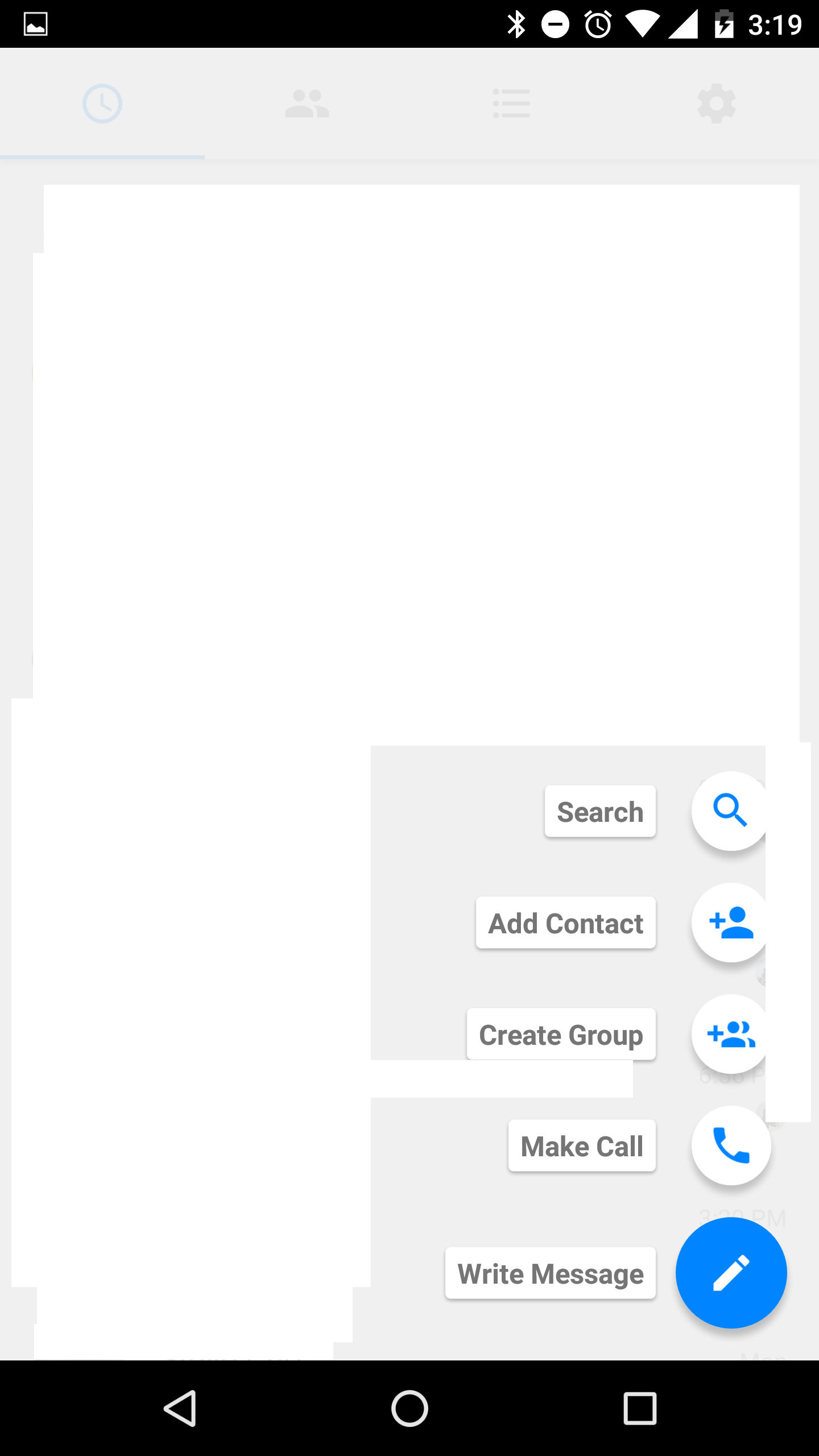 Facebook Messenger FAB Material Design 2