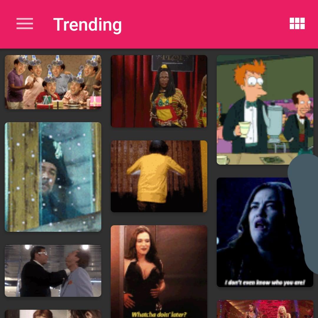 Giphy arriva su smartphone, con l'app GIF Pager (foto)
