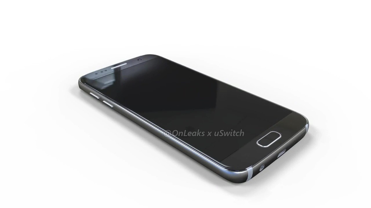 Galaxy S7 render CAD - 1