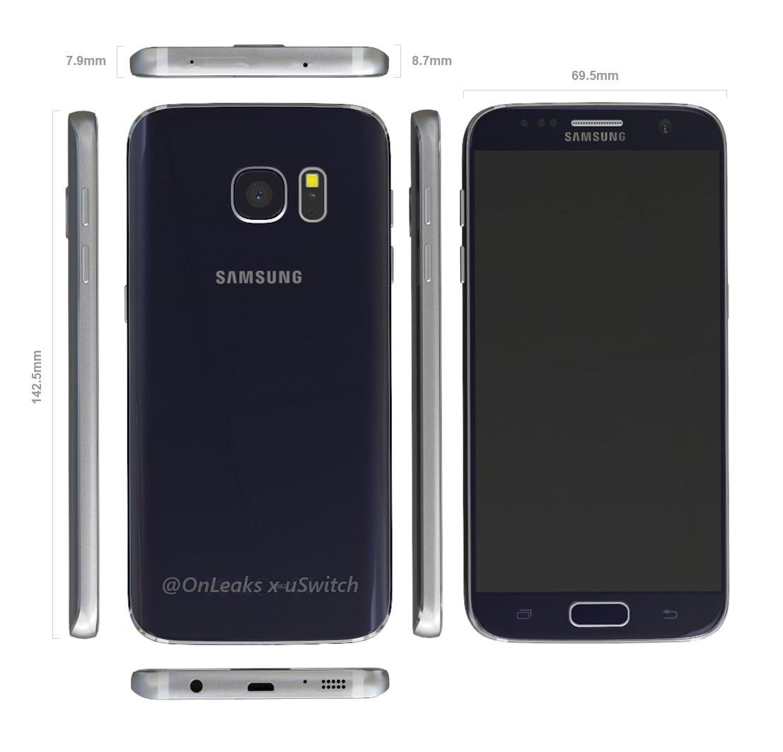 Galaxy S7 render CAD – 5