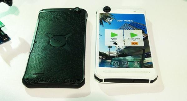 YEZZ Sfera, lo smartphone che registra a 360 grandi