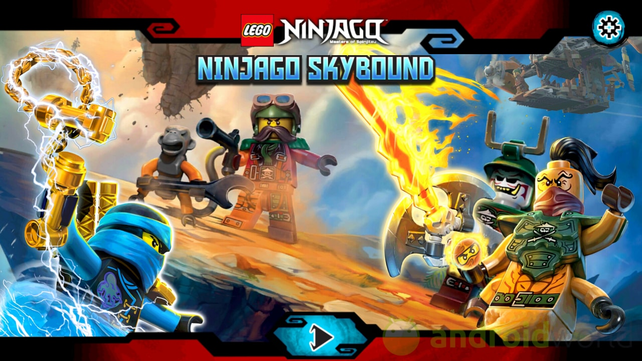 Lego Ninjago Skybound Copertina