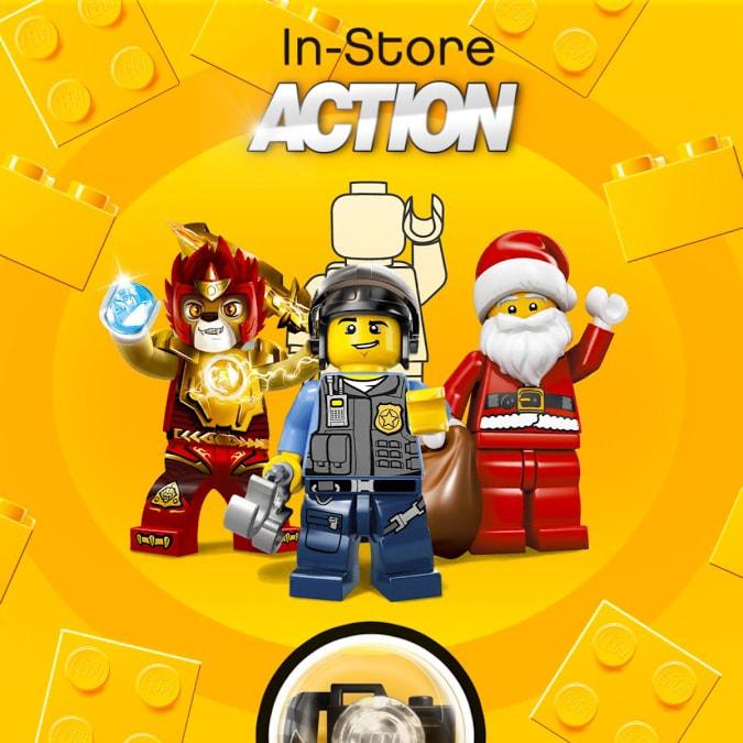 I negozi LEGO diventano interattivi, con LEGO In-Store Action (foto)