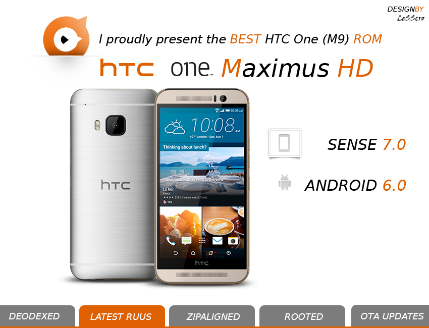 MaximusHD 7.0.0 per htc one m9