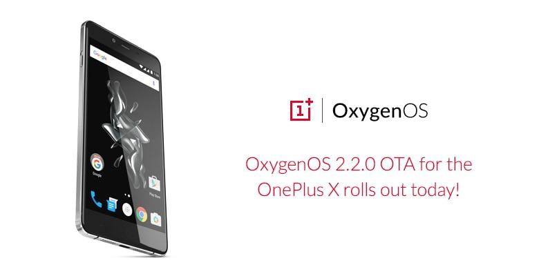 OxygenOS 2.2.0 OnePlus X