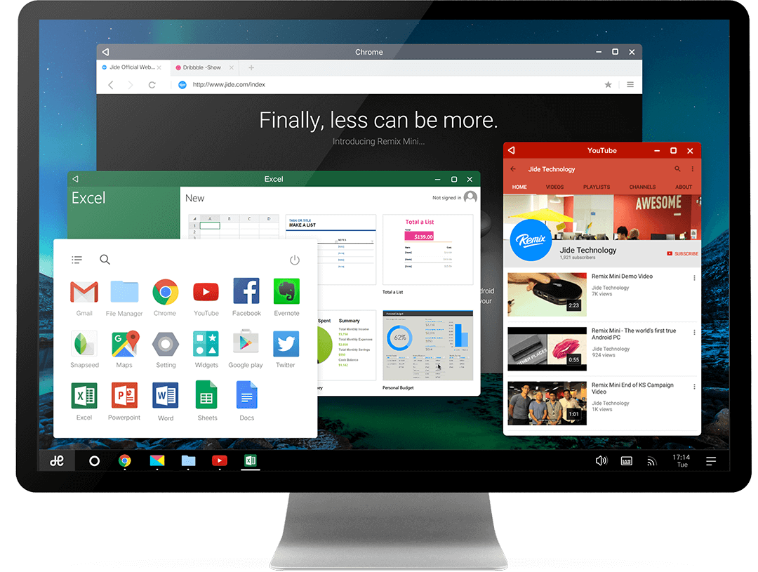 Remix OS per PC