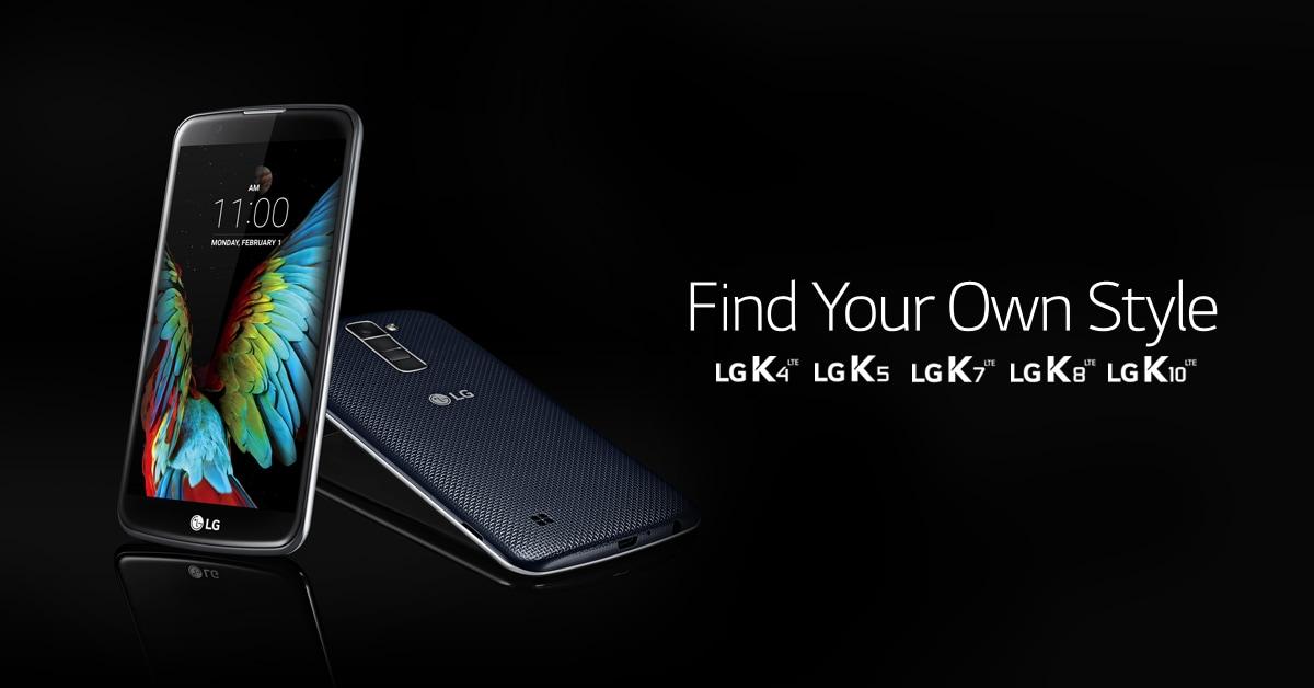 La serie K di LG si allarga ancora: ecco K5 e K8!