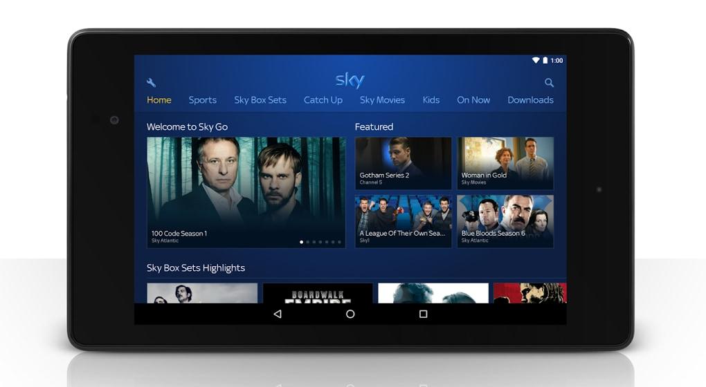 Sky Go diventa più bella, sia su smartphone che su tablet (foto)