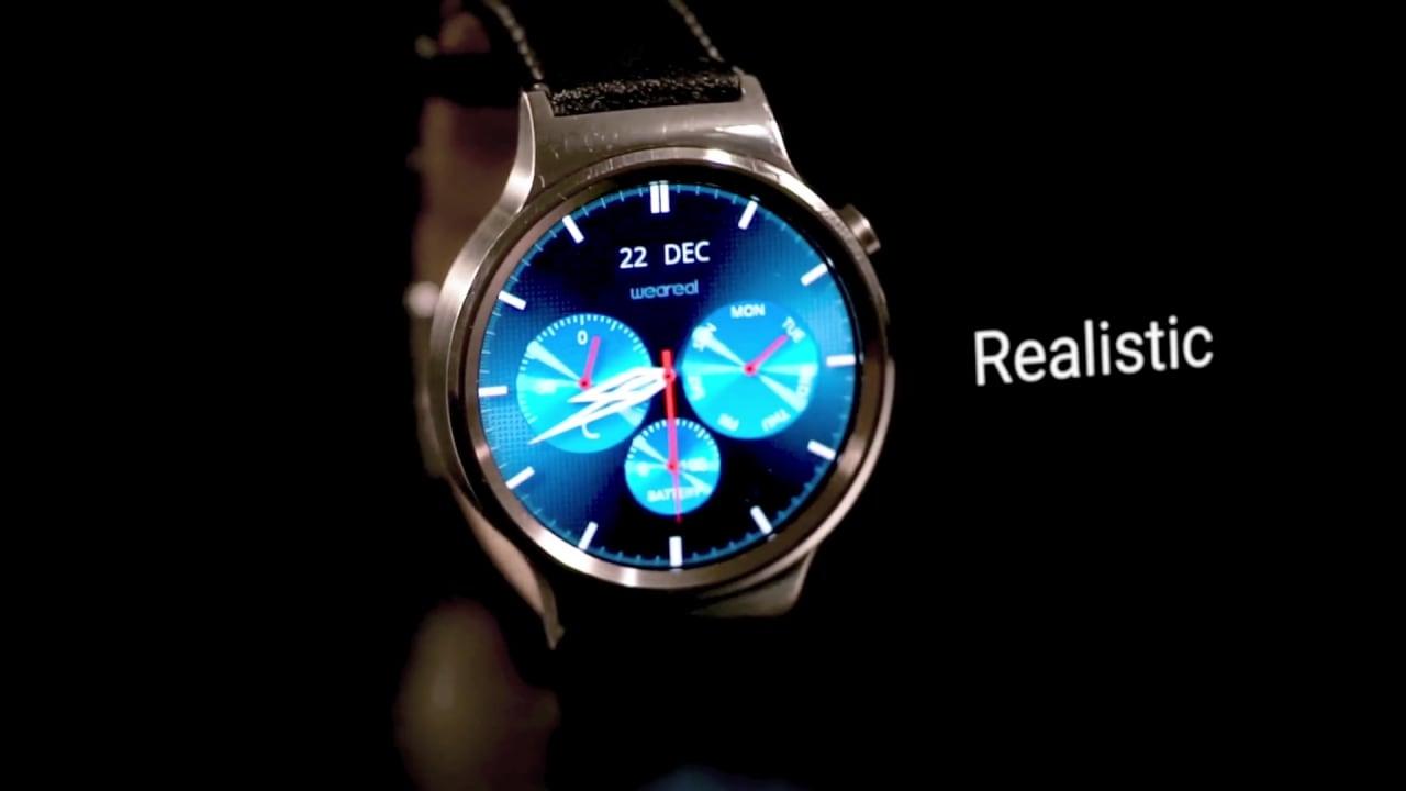 Rendete più realistico il vostro smartwatch con le watch face Weareal (foto e video)