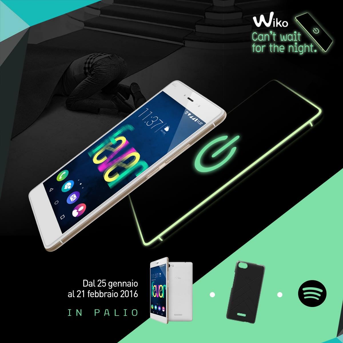 Wiko mette in palio Fever e Spotify Premium nel suo WIKOncorso