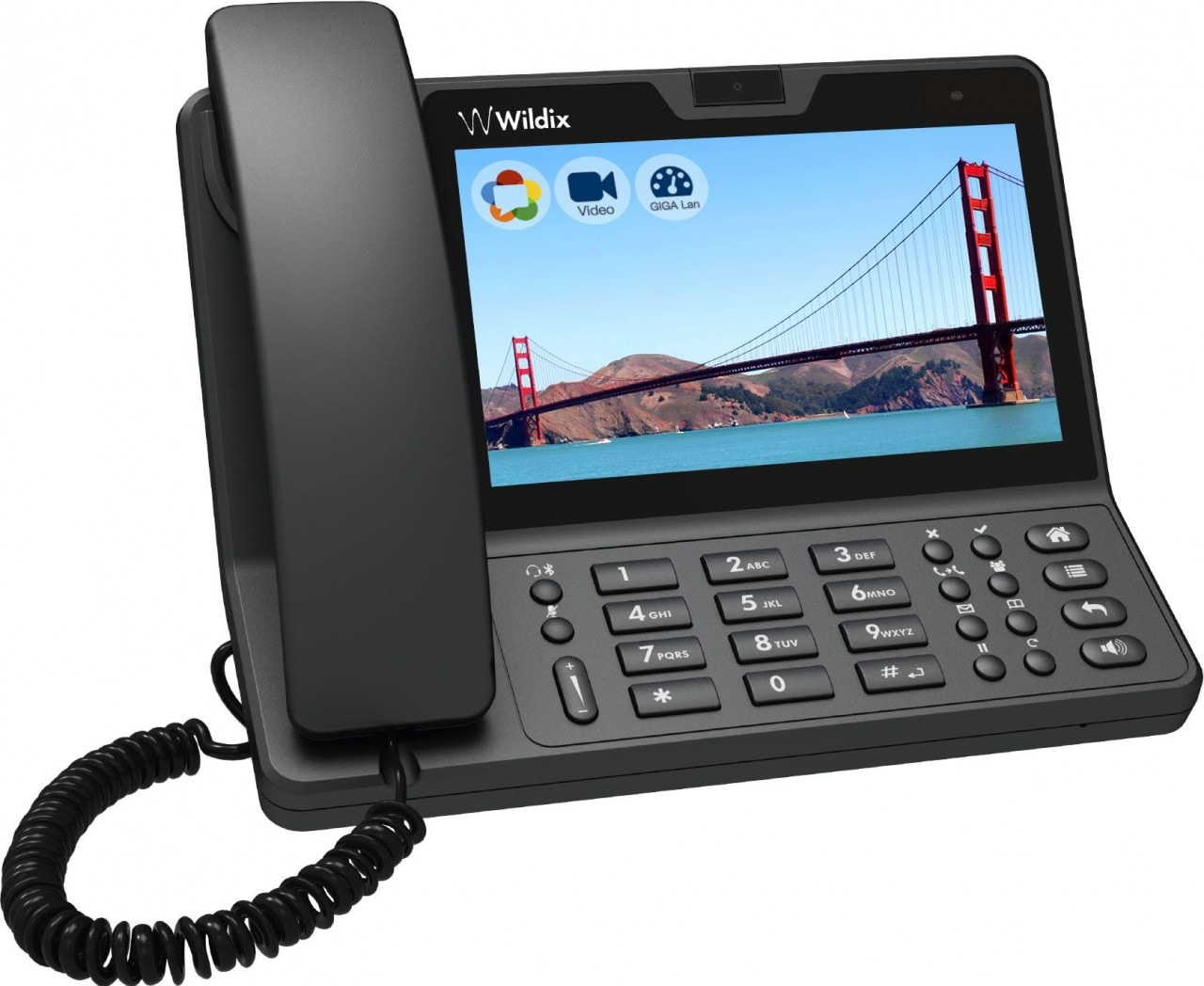 Wildix WP600ACG: primo telefono Android WebRTC al mondo | AndroidWorld
