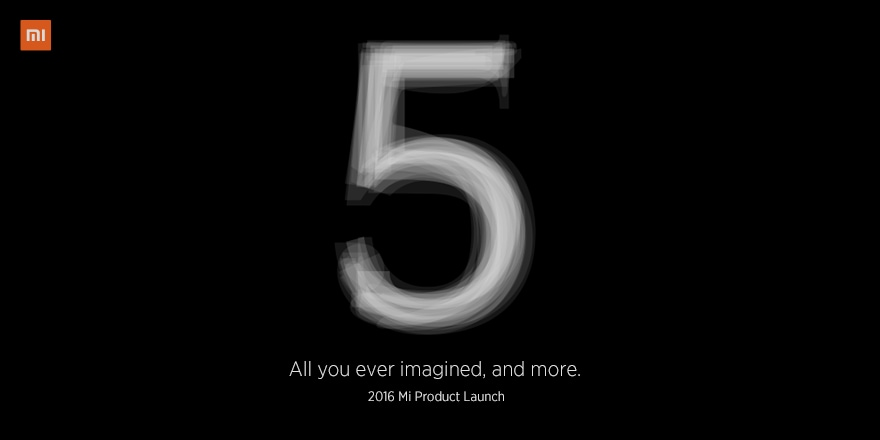 La presentazione di Xiaomi Mi5 sarà in diretta anche su YouTube (video)