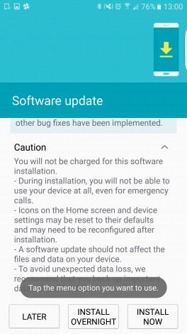 screenshot Android 6.0.1 beta Galaxy S6 ed s6 edge - 1