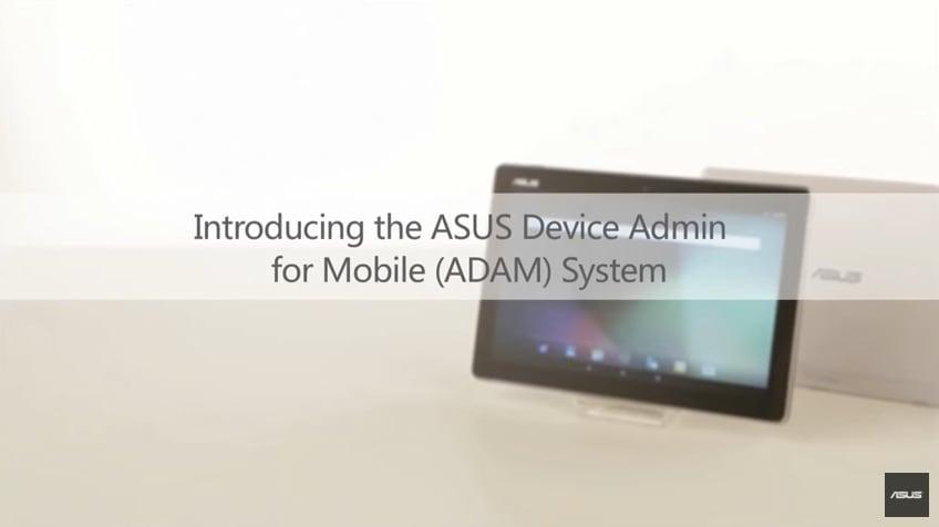 ASUS presenta la serie M: tablet per gli utenti business, con il gestionale ADAM (video)