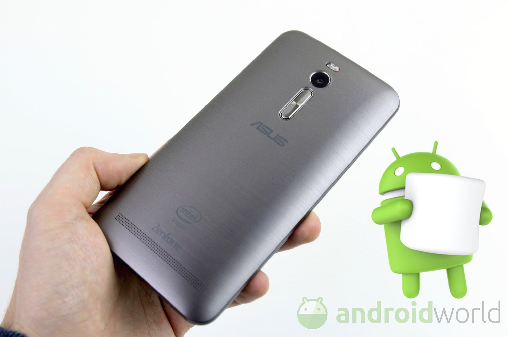 ASUS ZenFone 2 (ZE551ML) si aggiorna finalmente ad Android 6.0 Marshmallow
