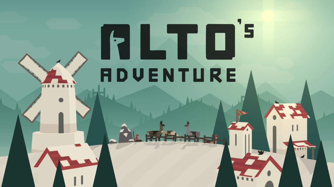 Alto's Adventure Copertina