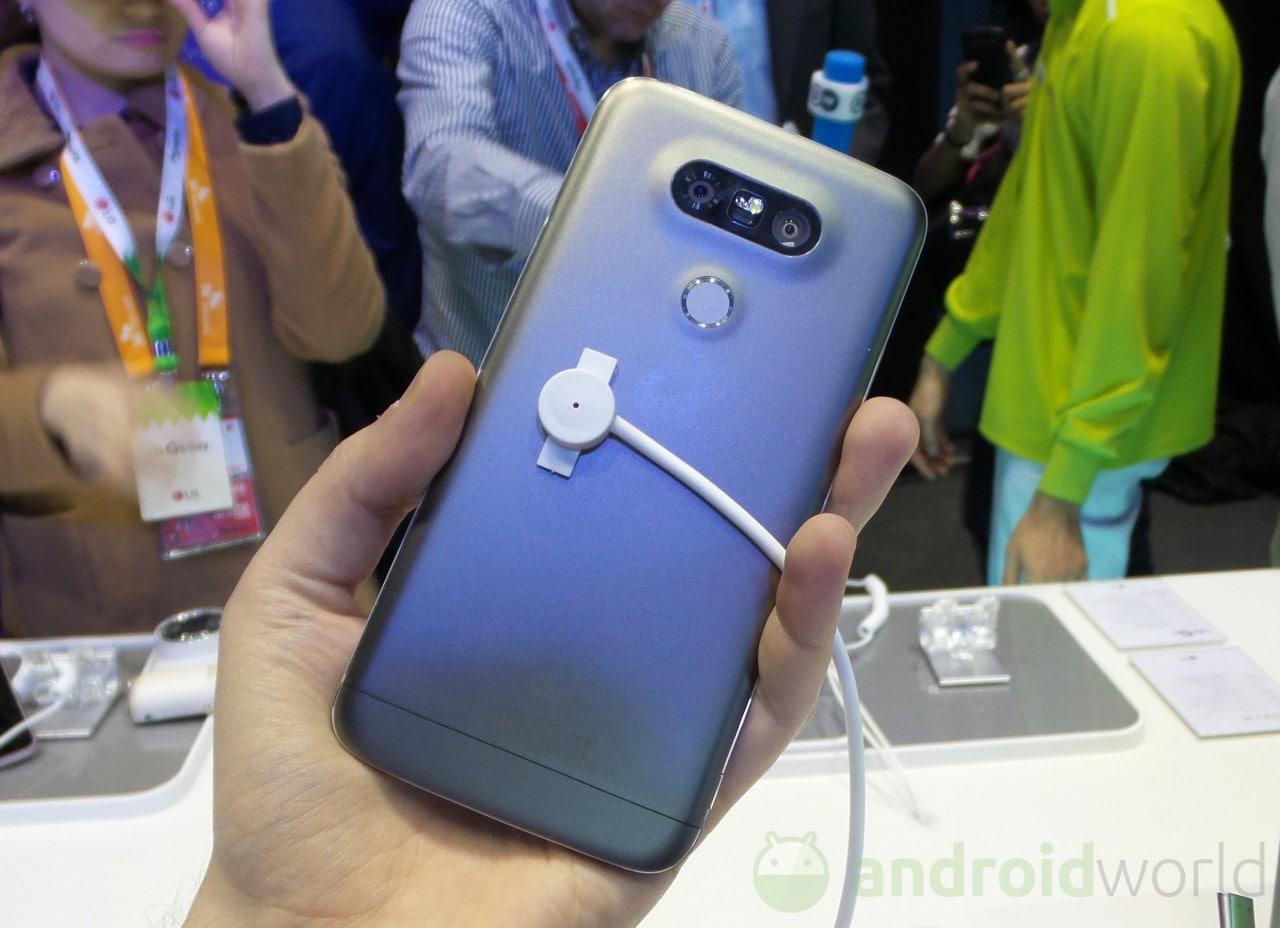 LG nega fermamente che il corpo di G5 sia fatto in plastica