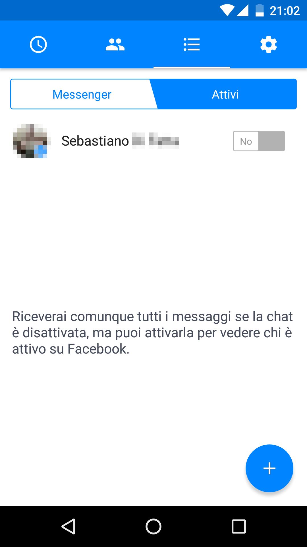 Facebook Messenger Material Design – 1