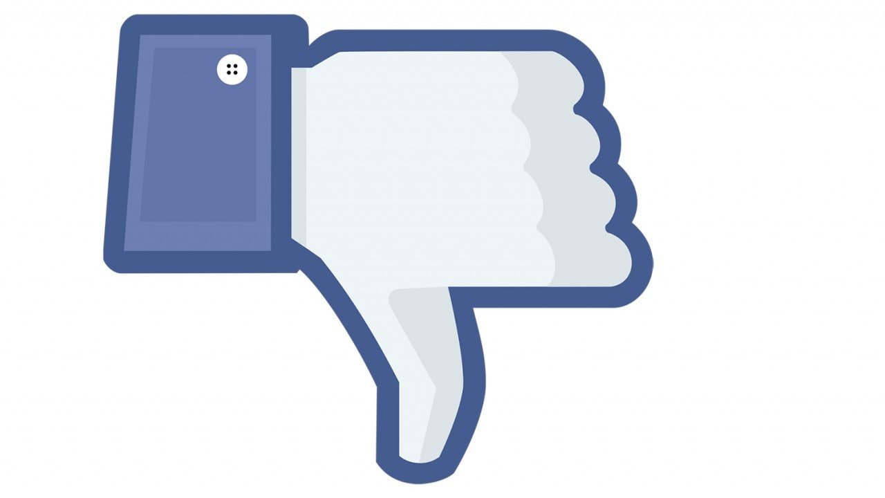 Facebook dislike final