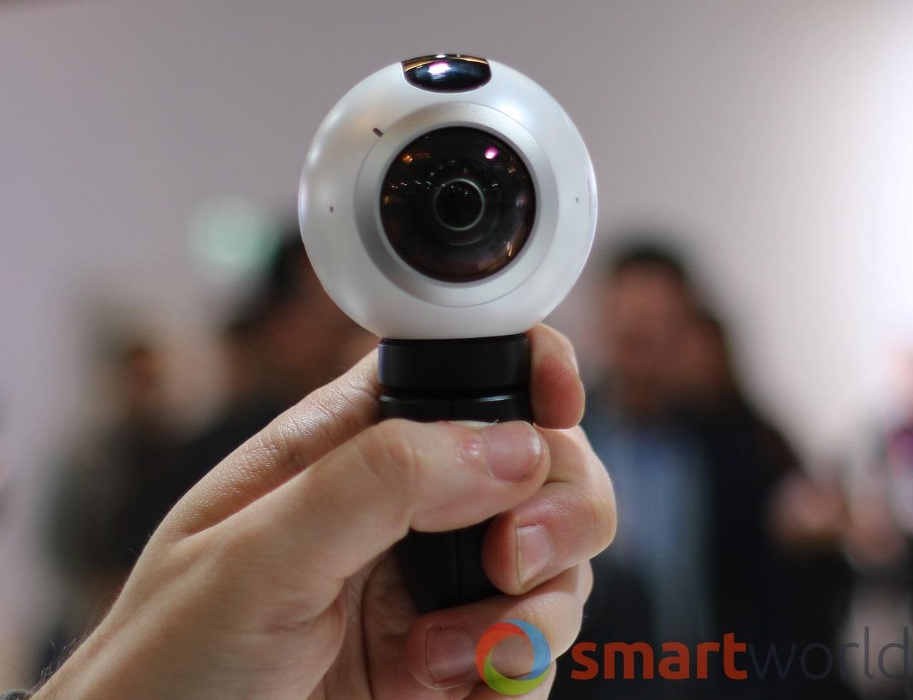 Samsung Gear 360: ecco quanto costerà l'occhio sferico per smartphone Galaxy