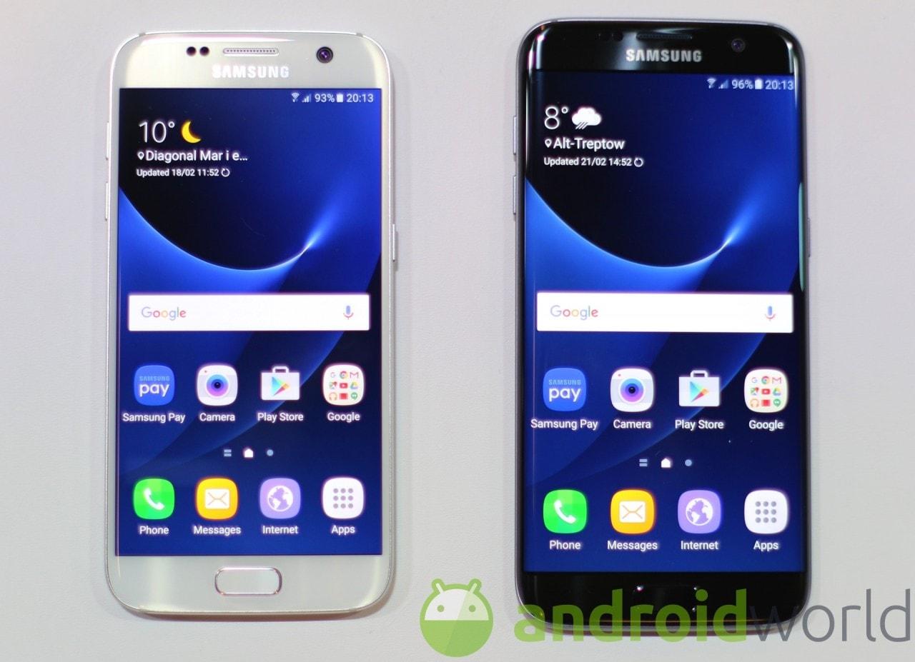 Foto Samsung Galaxy S7 ed S7 edge - 1
