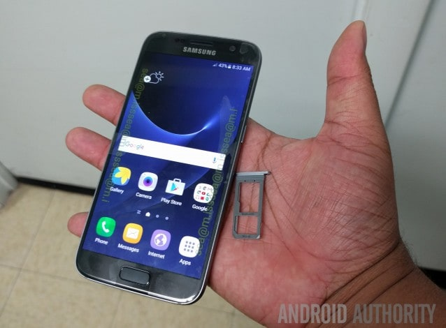 Galaxy S7 dal vivo - 2