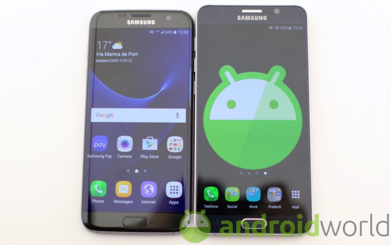 Galaxy Note 5 e Galaxy S6 Edge+ da oggi dicono addio alle patch di sicurezza mensili