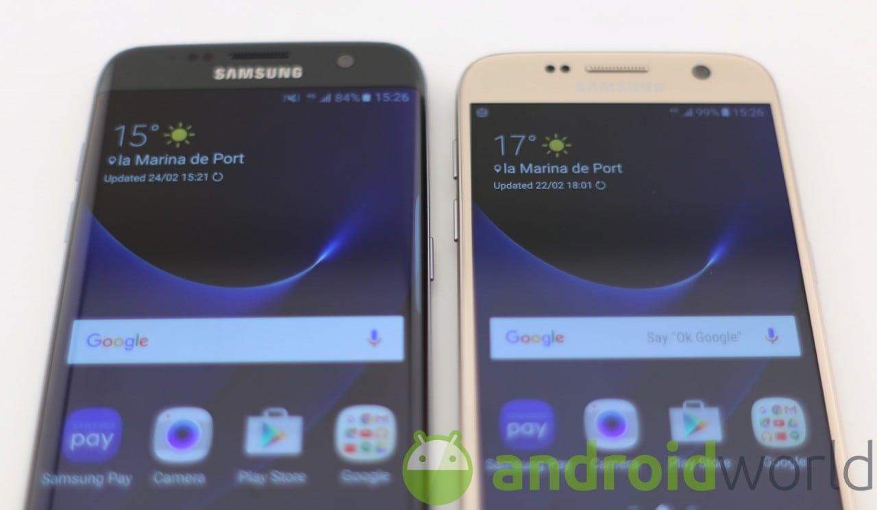 Galaxy S7 vs Galaxy S7 edge - 3