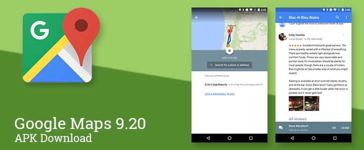 Google Maps 9.20 - 3