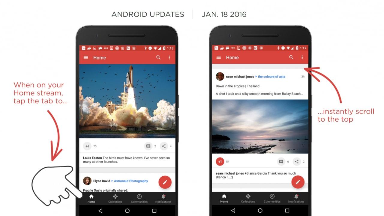 Google Plus 7.1